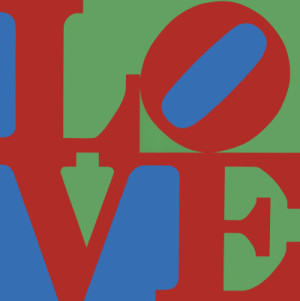 "Robert Indiana's ""LOVE, 1967."" The ""Love"" image was originally used for a Museum of Modern Art holiday card in 1964. © 2014 Morgan Art Foundation / Artists Rights Society (ARS), New York"
